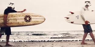 【スターウォーズファン必見!】サーフィン・トルーパー見つけた!